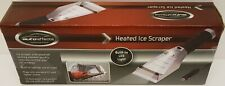 NEW~AUTO EFFECTS HEATED ICE SCRAPER W/LED LIGHT~USES 12 VOLT LIGHTER SOCKET