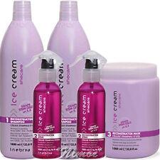 SheCare Reconstructor Kit Max 2 x Shampoo +1x Mask +2x Spray Ice Cream Inebrya ®