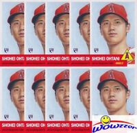 (10)2018 Topps Living Set #7 SHOHEI OHTANI RC MINT LA Angels 1953 Style SOLD OUT