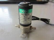 CKD USG2-X0739 Solenoid Valve 1pcs Used Tested
