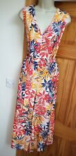 New Beautiful Leaf Print Size 12 Cropped Jumpsuit From New Look Dress Up Or Casu
