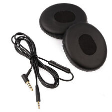 Cable & Ear Cushion Kit for Bose OE2 / SoundTrue Headphones - Inline Lead & Pads