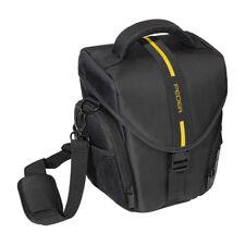 Kameratasche / Fototasche / SLR Tasche L mit Regenschutz und Zubehörfächer, gelb