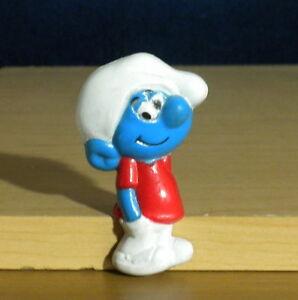 Smurfs Magnet Slouchy Smurfling Vintage Smurf Figure Rare PVC Toy Figurine 80s