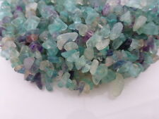 Small Flourite Chip Beads 4-6mm - 36 Inch Strand, Nuggets, Gemstones    (GB1014)