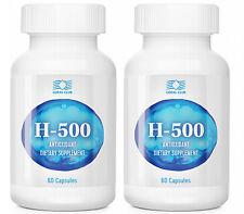 H-500 (Coral Club International) 60 capsules Exp: 03/2018 (2 pack)