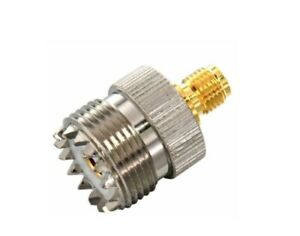 SMA Female to SO239 UHF Female Adapter Connector PL259            891