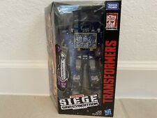 Transformers Siege Soundwave Voyager Class, New