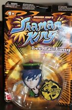 Mattel Shonen Jump's Shaman King Lee Pai-Long Figure  SEALED & NEW (2004)