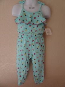 NWT GYMBOREE SUGAR REEF ROMPER OUTFIT SIZE 6-12 6 12  MONTHS FRUIT ONE-PIECE