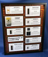 ChipScapes - Components of Leadership - Intel,4004,IBM,SYS/360,Pong,Gift,Award