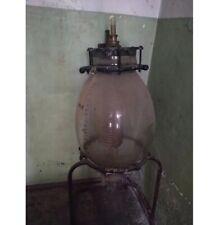 Glass chemical reactor 50 liter. Borosilicate glass.