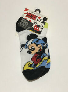 Disney Boys Mickey Mouse Socks size 6-8