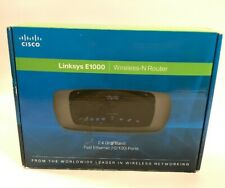 Linksys E1000 Wireless N Router 2.4 GHz Band Fast Ethernet