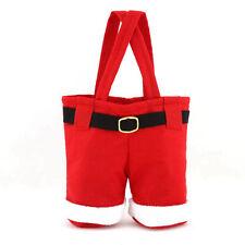 2X Christmas Santa Pants Stocking Wine Bottle Holder Candy Bags Xmas Party Decor