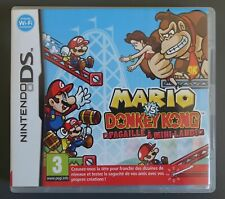 Jeu 3DS - Mario V. Donkey Kong - Pagaille à Mini-Land - version FR