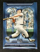 MICKEY MANTLE - 2011 Topps 60 New York Yankees #T60-7