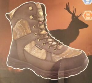 Men's Herman Survivors 400g Thinsulate Waterproof Leather Hunting Boot Sz 13W
