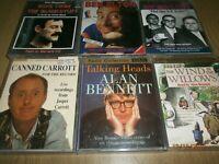 Audio Books Bundle 6 Cassettes Goons,Ben Elton,carrott,Alan Bennett, blackstuff