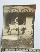 original photo china a rich man from soochow C 1900