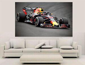 F1 Canvas Wall Art - Max Verstappen