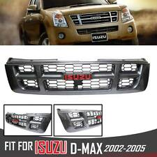KEVLAR GRILL GRILLE WITH LOGO ISUZU X SERIES FOR DMAX RODEO D-MAX PICKUP 2002-05