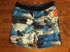 Speedo Swim Shorts Board Shorts Floral Multi-Color NWT $54 Men's Large 7840373K