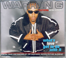 """WARREN G """"WHAT'S LOVE GOT TO DO WITH IT"""" - Single CD (1996)"""