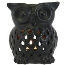 NEW  and Boxed Cute Ceramic Owl  Burner wax Home Fragrance 11cm height