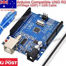 Arduino Compatible UNO R3 ( Atmega328p ) USB Cable - Fast AU