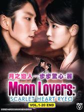 Korean Drama DVD Moon Lovers: Scarlet Heart Ryeo Box *English Subtitle*