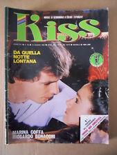 KISS Fotoromanzo n°80 1984  [D31]