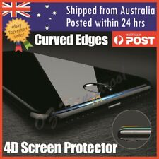 4D Full Cover Tempered Glass Screen Protector For Apple iPhone X 10 8 7 6s Plus