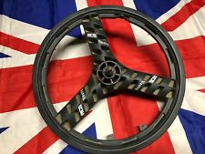 "ACS Stealth Mag Black 20"" BMX Injection Molded Three Spoke Front Wheel 1/2"" Axle"