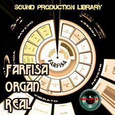 FARFISA ORGAN- unique HUGE 24bit WAVE Multi-Layer Studio Samples Library on CD
