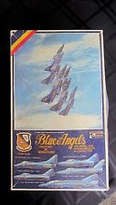 "VINTAGE ""Blue Angels"" 5 in 1 Hasegawa Minicraft Model Kit 1209 1:72 scale"