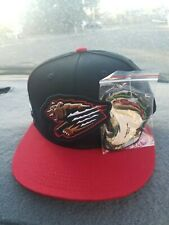 Fresno Grizzlies Interchangeable Snapback Baseball Hat In Hand Grizzlies/Tacos