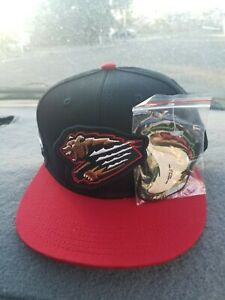 Fresno Grizzlies Interchangeable Snapback Baseball Hat In Hand Grizzlies/Tacos