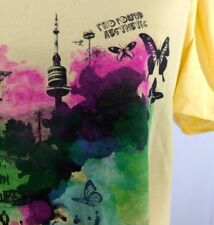 Profound Aesthetic T Shirt XL Dream in Color Yellow Watercolor Graphics