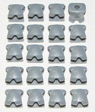LEGO LOT OF 20 NEW PEARL LIGHT GREY MINIFIGURE BREASTPLATE ARMOR CASTLE PIECES