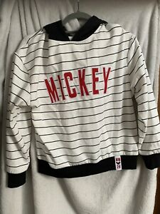 Primark Mickey Mouse Hoodie Size 6/8