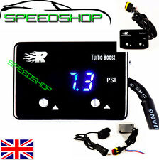UNIVERSAL BLUE LED DIGITAL BOOST GAUGE Fits TOYOTA AUDI SEAT BMW MERCEDES FORD