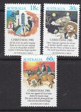 Australia 1981 Christmas set MNH