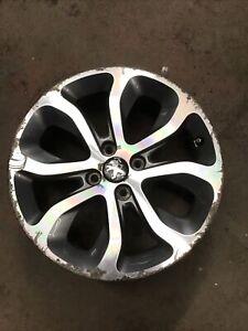Peugeot 308 Mk1 2008-2013 17'' Inch 4 Stud 8 Spoke Alloy Wheel (2)