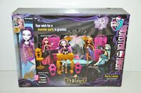 Monster High 13 Wishes Party Lounge Playset with Spectra Vondergeist Doll New
