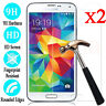 2Pcs Tempered Glass Film Screen Protector For Samsung Galaxy S4 S5 S6 Note 3 4 5
