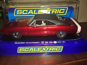 C3652 SCALEXTRIC The Most Stunning Dodge Charger R/T Candy Apple Red Brand New!