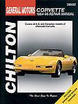 CHILTON BOOKS 28502 Repair Manual Chevrolet Corvette 1984-96