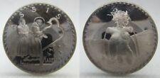 Assisi, Medaglia Moneta 1972 Italia 1 Marengo Argento.925 Silver  [z29]