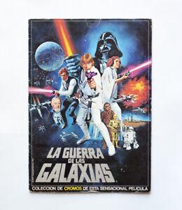 1978 Star Wars vintage Guerra de Las Galaxias spanish stickers cards card album